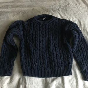Boys cable knit sweater